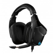 HEADPHONES, LOGITECH G635, Gaming, Microphone, 7.1, Lightsync, Black (981-000750)