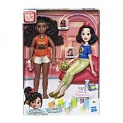 Set papusi Disney Princess Comfy II - Vaiana si Alba ca Zapada