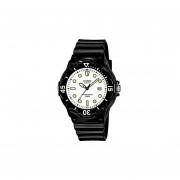 Reloj Analógico Mujer Casio LRW-200H-7E1 - Negro con Blanco