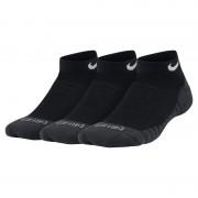 Chaussettes Nike Dri-FIT Cushion No-Show pour Enfant plusâgé (3 paires) - Noir