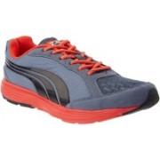 Puma Descendant Grisaille Running Shoes For Men(Grey, Orange)