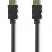 Nedis CVGT34000BK30 HDMI kábel 3m - fekete