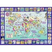 Puzzle Ravensburger - Privind Lumea, 300 piese (13190)