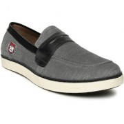 U.S.Polo Assn. Men grey Solid Owen Slip-on Sneakers