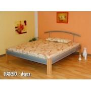 VA-07 RIO D dřevo/kov postel vč. matrace a roštu