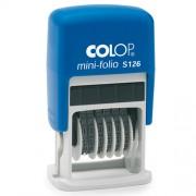 Ștampilă numărătoare COLOP S126