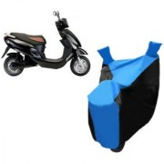 KAAZ Blue with Black Two Wheeler Cover For Electric Photon Hero Electric Bikes