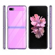 SaharaCase - Crystal Series Case for Samsung Galaxy Z Flip and Z Flip 5G - Clear