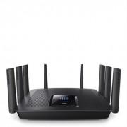 Linksys EA9500-EU Router Wi-Fi Wireless AC Gigabit Tri-Band AC5400, Nero