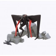 Godzilla Movie Pack of Destruction with MUTO (Winged) Figure, Destructible Building, and Helicopter