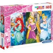 Puzzle Maxi Printesele Disney Clementoni 60 piese