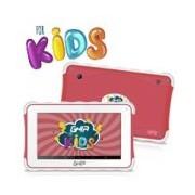 TABLET GHIA KIDS 7 TODDLER GTAB718R/QUAD CORE/1GB/8GB/2CAM/WIFI/BLUETOOTH/ANDROID 8.1 GO EDITION /ROJA