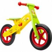Bicicleta din lemn fara pedale 12 Winnie the Pooh Seven SV9910 B3302656