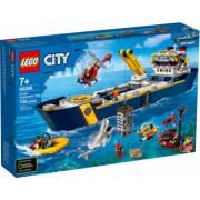 LEGO City Nava de explorare a oceanului 60266