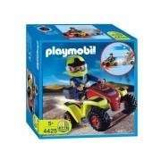 Playmobil 4425 - Pilote Avec Quad Rouge