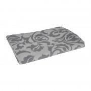 Xenos Tafelkleed damast - grijs - 240x140 cm