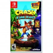 Vídeo Juego Crash Bandicoot N Sane Trilogy Para Nintendo Switch