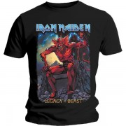 Iron Maiden - Legacy Of The Beast 2 Devil Men's X-large T-shirt - Blac