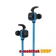 CCK SZTEREO SPORT bluetooth headset, V4.1, felvevő gomb, hangerő szabályzó, Kék