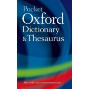 Pocket Oxford Dictionary and Thesaurus, Hardcover