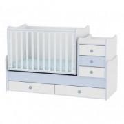 LORELLI krevetić maxi plus 70/160 white blue 10150300022