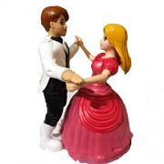 S S Traders - Dancing Couple - Tango Dance Toy with Light and Music