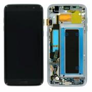 Ecran Display cu touchscreen Samsung Galaxy S7 Edge G935f Negru cu Burn Reconditionat