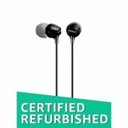 (Renewed) Sony MDR-EX15LP in-Ear Headphones (Black)