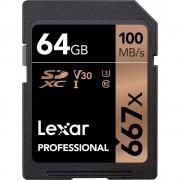 Lexar SDXC Professional 667X 64GB UHS-I U3 V30,100MB/s