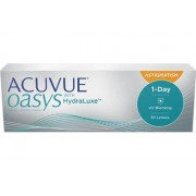 ACUVUE OASYS 1-Day for ASTIGMATISM (30 linser): +0.25, -0.75, 80