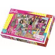 Puzzle clasic pentru copii - Barbie mereu la moda 160 piese