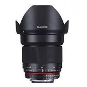 Samyang Obiettivo 16mm F/2.0 ED AS UMC CS per Olympus Quattroterzi, Nero