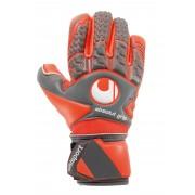 Uhlsport Aerored Absolutgrip Finger Surround - Keepershandschoenen - Maat 9