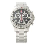 【57%OFF】Off Road Chorono ラウンド クロノグラフ デイト ウォッチ シルバー×ブラック×シルバー ファッション > 腕時計~~メンズ 腕時計