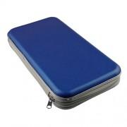 ELECTROPRIME 3pcs 80 Disc CD Sleeve Wallet Carry Case DVD Storage Holder Wallet Media Bag