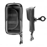 Interphone - Unicase Master 6.5 inch Telefoonhouder Fiets en Motor Stuur (max. 165x90mm)