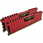 Memorie Corsair Vengeance LPX 16GB (2x8GB), DDR4 3600MHz, CL18, 1.35V, XMP 2.0, Red
