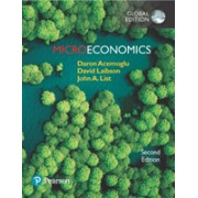 Microeconomics, Global Edition (Acemoglu Daron)(Paperback) (9781292214351)