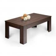 Mobilifiver Tavolino da salotto, Easy, Rovere Moro