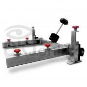 Garra jacaré com regulagem XYZ com opção de 50 cm, 70 cm, 100 cm