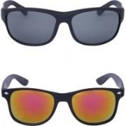 Amour-Propre Retro Square, Wayfarer Sunglasses(Multicolor)