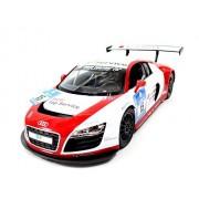 """SOLDCRAZY 12"""" 1:14 Audi R8 LMS Performance Model W/ Led Lights (Red)"""