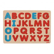 Puzzle lemn - Alfabet in stil Montessori