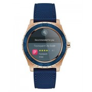 GUESS Ace Mens Touch smartwatch Blu, Rose gold AMOLED