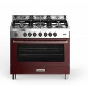 Bompani BO689DC/N cucina 90x60 crema/inox forno elettrico