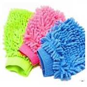 Microfibre Cleaning Gloves set of 2 pcs