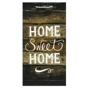 Falikép Sweet Home sötét 25x48cm 8-9432 - Falikép