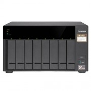 QNAP TS-873-8G-US 8-bay NAS/iSCSI IP-SAN, AMD R series Quad-core 2.1GHz, 8GB RAM, 10G-ready