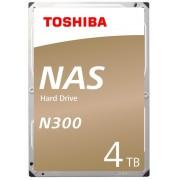 """HDD 3.5"""", 4000GB, Toshiba N300 NAS, SATA3, BULK (HDEXR01ZNA51)"""
