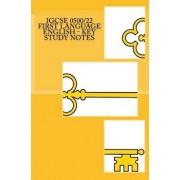 Igcse 0500/22 First Language English - Key Study Notes, Paperback/MR Joe Broadfoot Ma